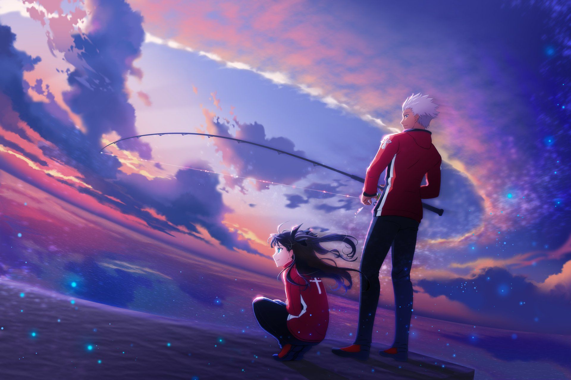 6000x4000 Fate Series Archer Wallpaper Background Image View Download Comment And Rate Wal Fate Stay Night Rin Fate Stay Night Fate Stay Night Characters