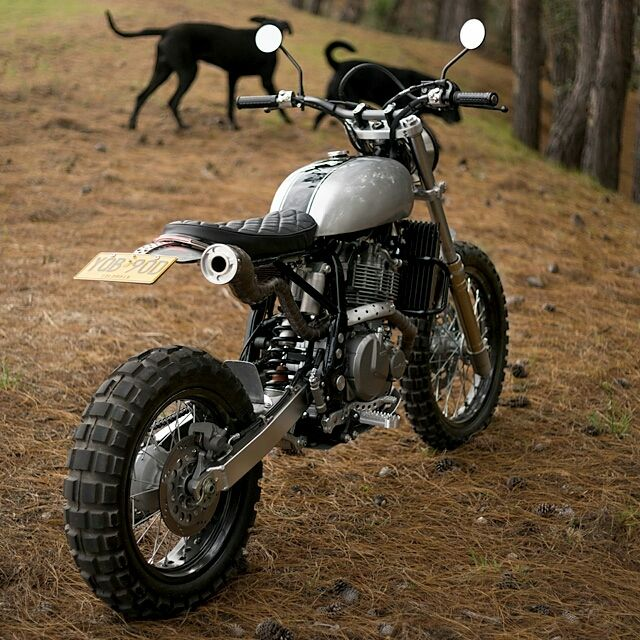 Badass Made Simple Mamba Suzuki DR650 By Pasquale Motors