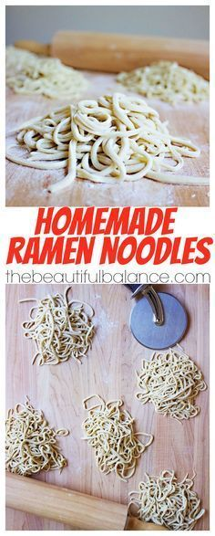 Using a staple ingredient that you are guaranteed to have on hand, homemade ramen noodles are extremely easy, fast, and delicious to make at home!   The Beautiful Balance