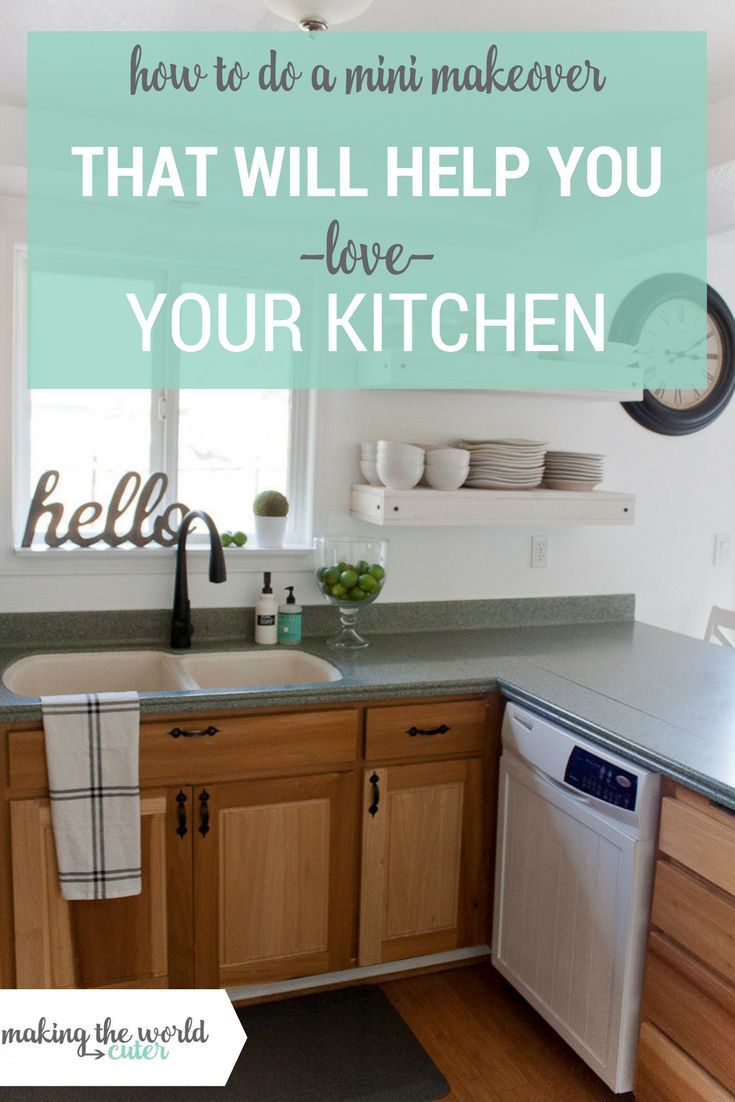 How To Do A Kitchen Makeover, Stay On Budget And Do It Over A Weekend