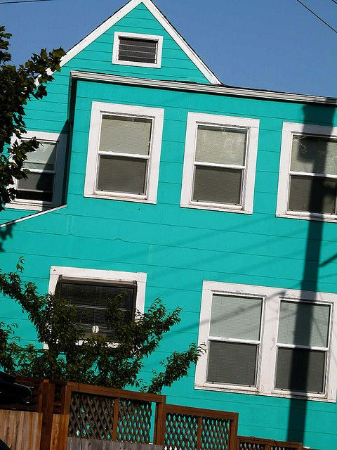 Bright house paint bright colored houses pinterest house - Bright house colors for exterior ...