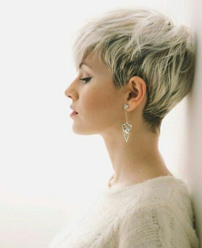 Kurzhaarfrisuren pixie cut 2019