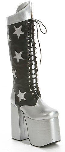ae2f7cf82ab Paul Stanley Boots - eBay Kiss Boots, Kiss Costume, Halloween Costume Boots,  Paul