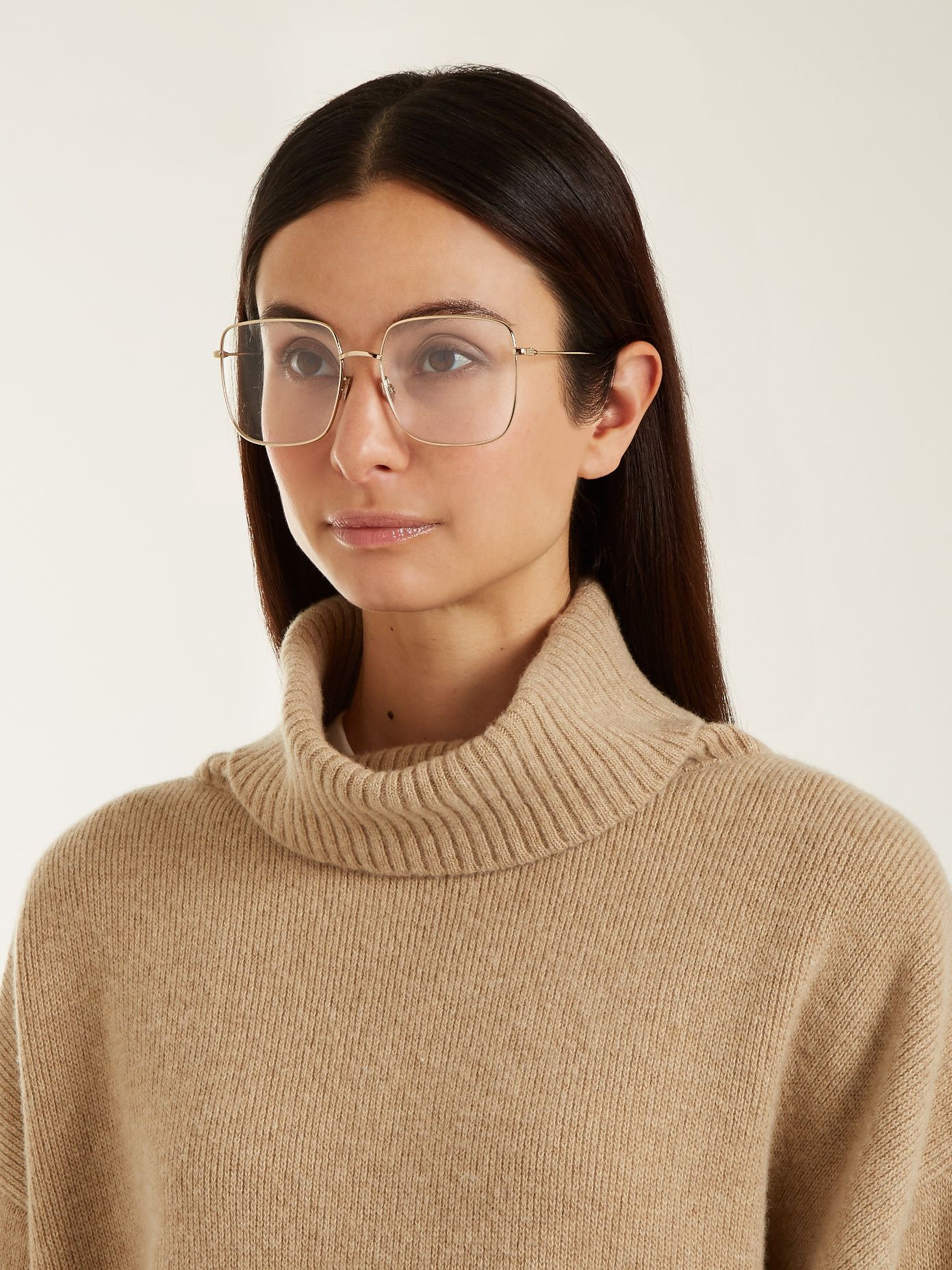 691edf4b4c Stellaire01 square-frame glasses