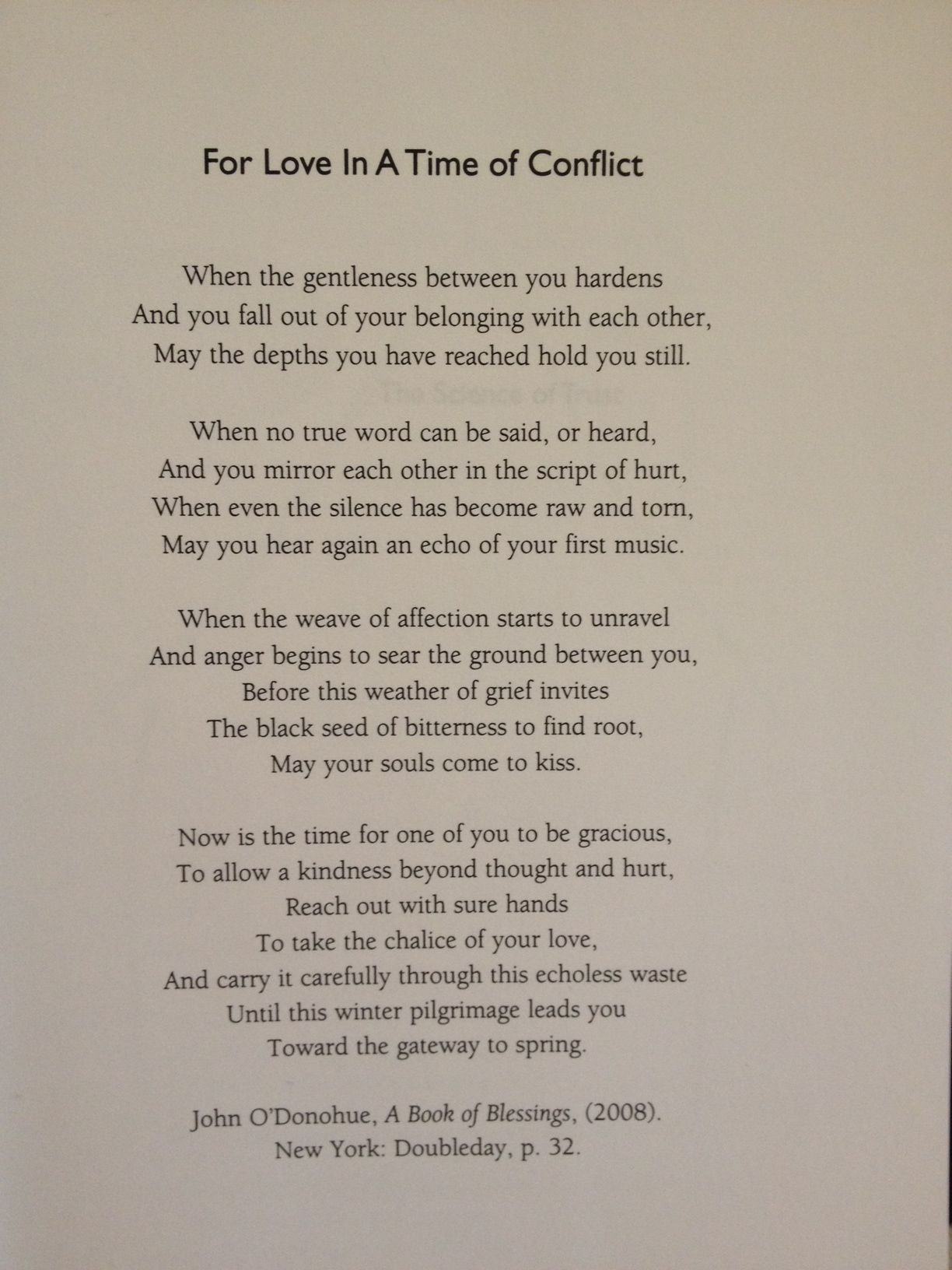 Beautiful Poem For Couples Going Through A Tough Time
