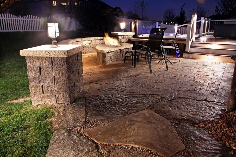 the cover of outdoor landscape lighting