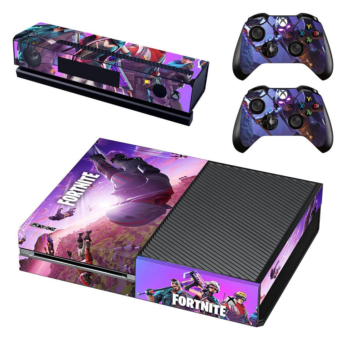 Fortnite Battle Royale Microsoft Xbox One Skin Sticker Decals For Console And 2 Controllers Free Shipping Xbox One Skin Fortnite Xbox One