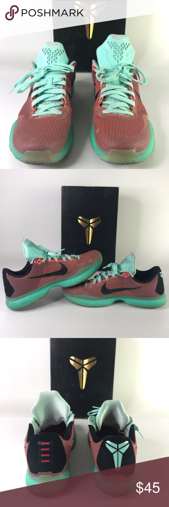 promo code 03bb9 67a1d Nike Kobe 10 Easter Men s Size 12 Nike Kobe 10 Easter Men s Size 12 Hot Lava