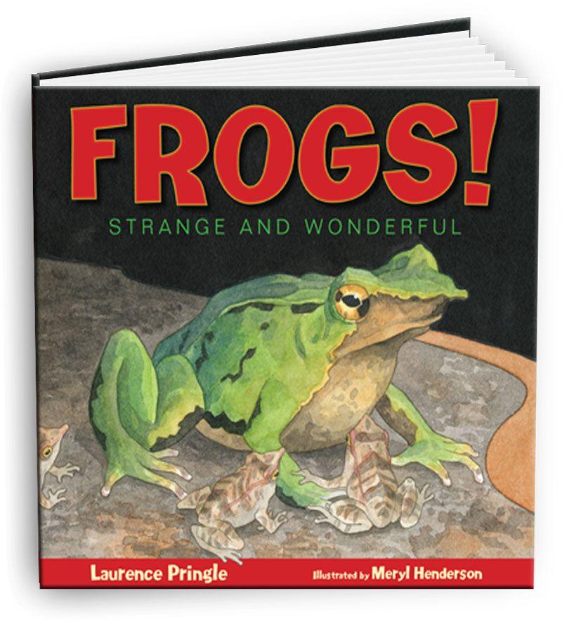 Frogs strange and wonderful frog childrens literature