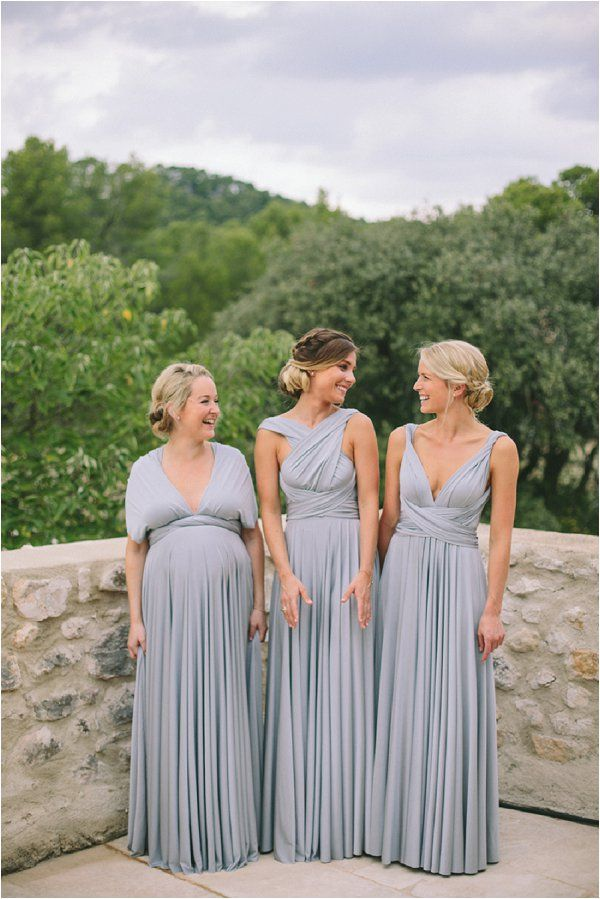 9fc4cffc0e34 Platinum twobirds Bridesmaid dresses | A real wedding featuring our multiway,  convertible wrap dresses | Image by M&J Photography
