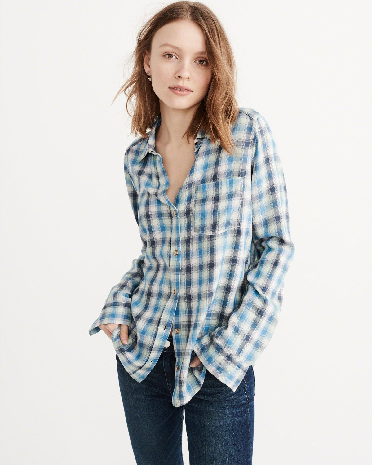Abercrombie Fitch Accessories Abercrombie Fitch Womens: Womens Shirts & Blouses