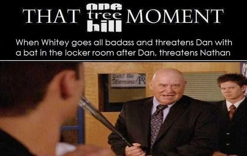One Tree Hill. OTH. Marvin Mouth McFadden. Lee Norris. Whitey. James Lafferty. Nathan Scott. That One Tree Hill Moment.