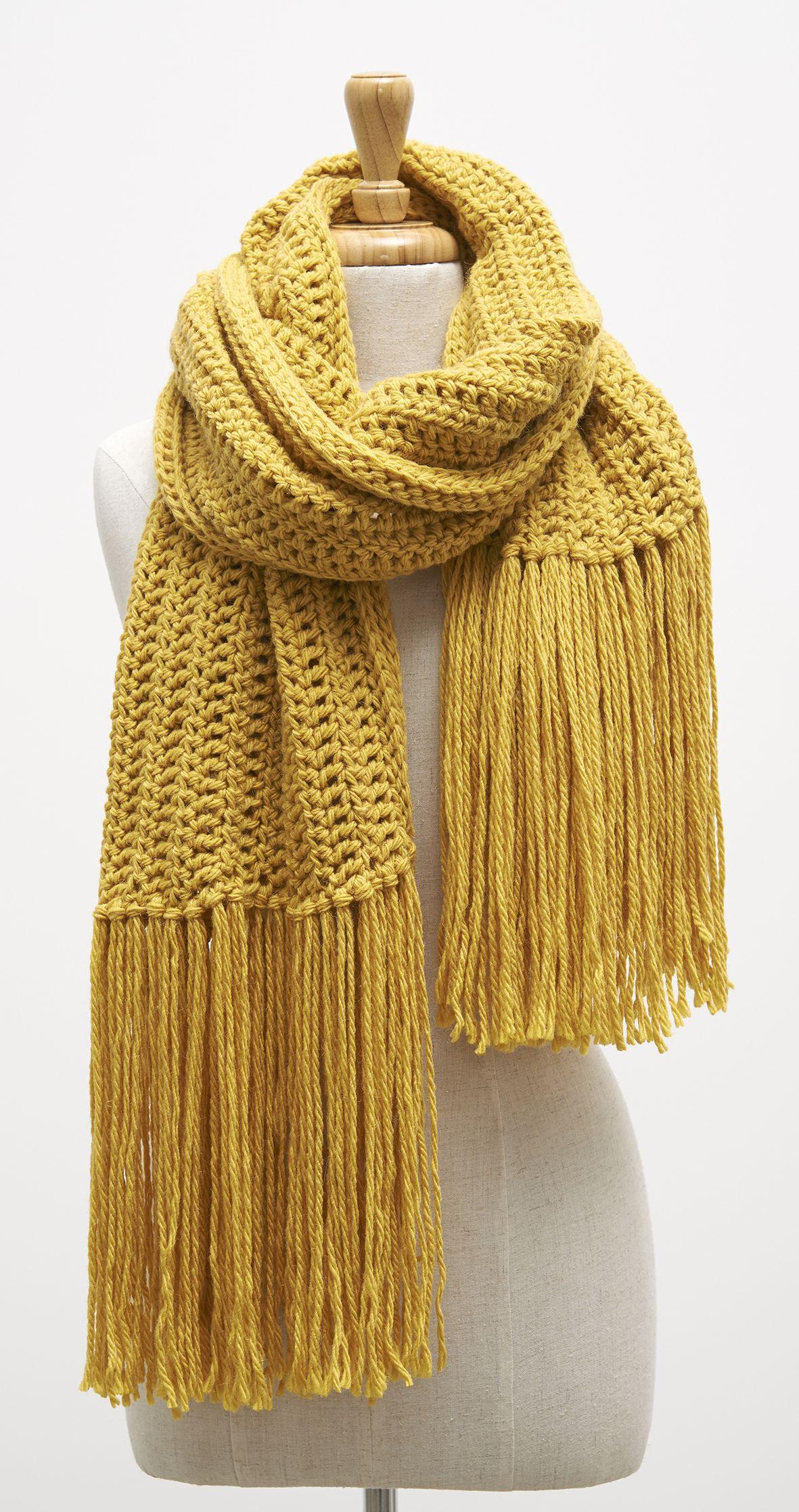 Crochet Scarf By Patons Australia New From Acs Crochet Hand