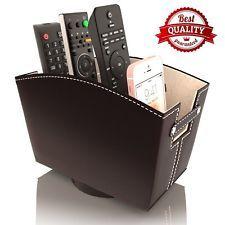 Remote Control Holder Caddy Bedside Organizer Nightstand Storage Desk Base Remote Control Holder Bedside Organizer Nightstand Organization