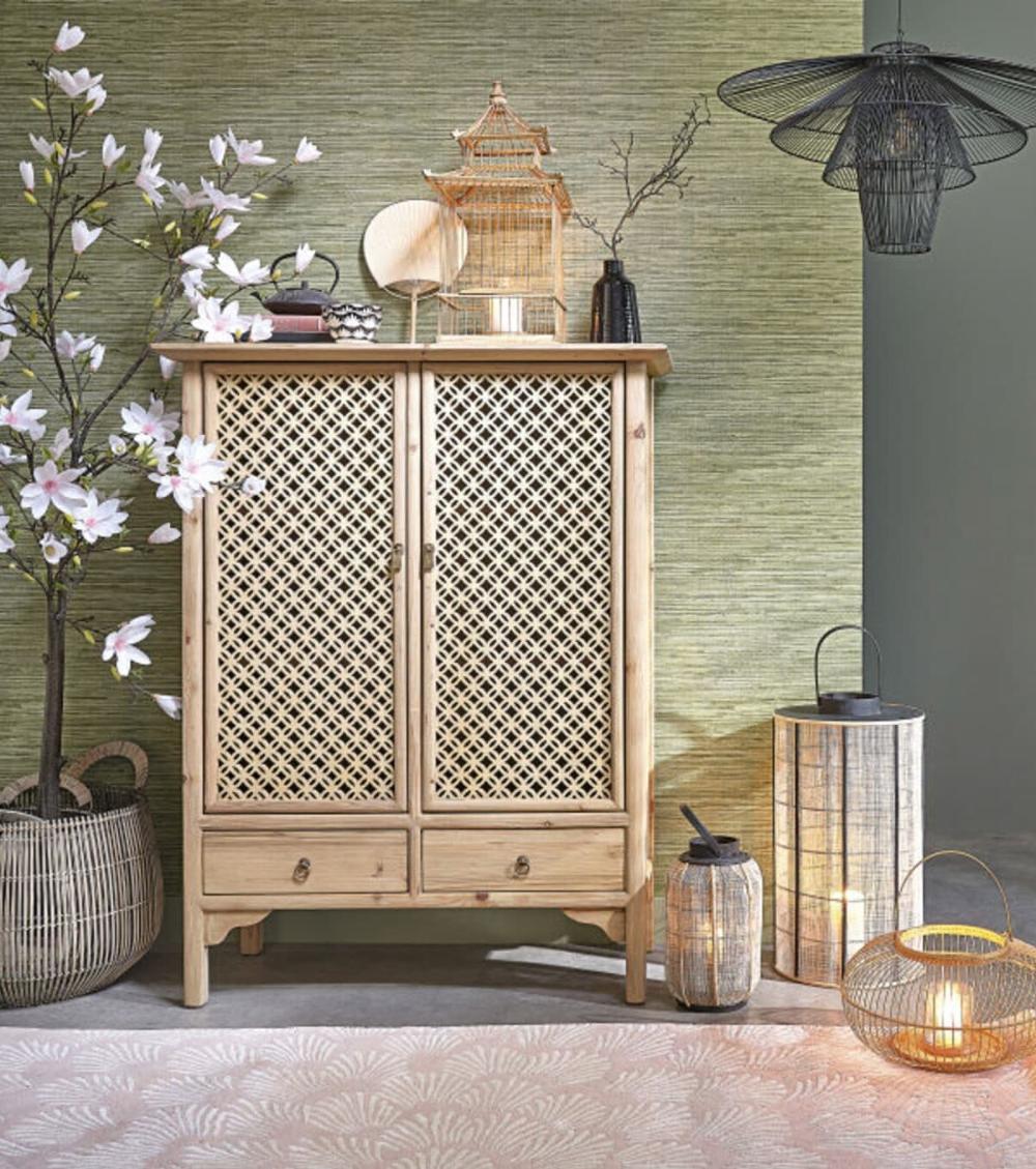 Nouvelle Collection Maisons Du Monde Clem Around The Corner En 2020 Cabinet De Rangement Decoration Interieur Design Maison Du Monde