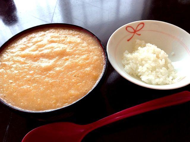 彼が作ってくれたぁ♡ 温まります(´Д` )♡ - 87件のもぐもぐ - 山芋生姜汁♡ by ultimate16