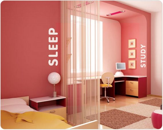 interior design ideas for girls bedroom pink bedroom for teen - Interior Teen Bedroom Design
