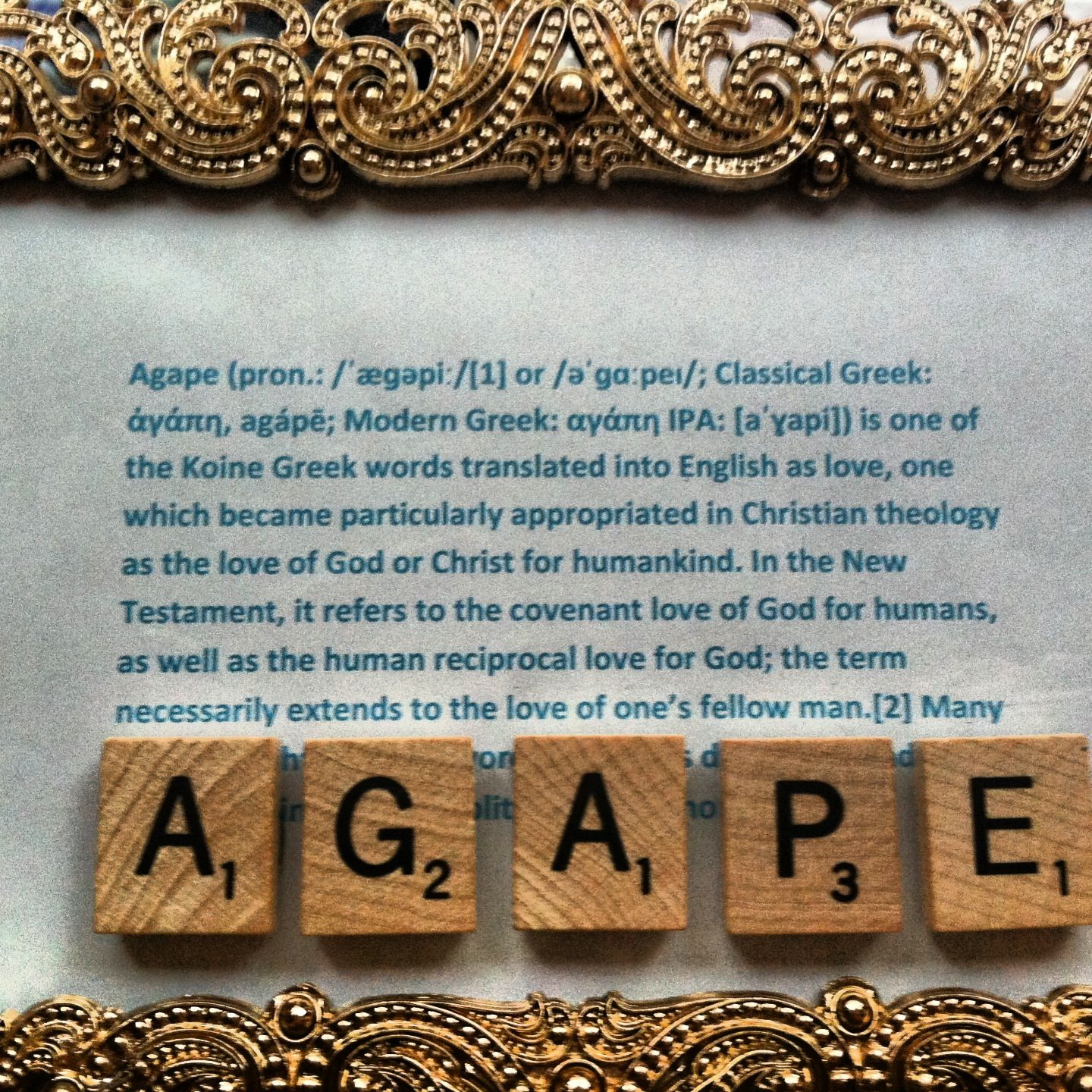 Gives A Definition Of Agape And How It Is Greek For Universal Love And Christian Theology Adopted It To Means Love For Us And Our Love For
