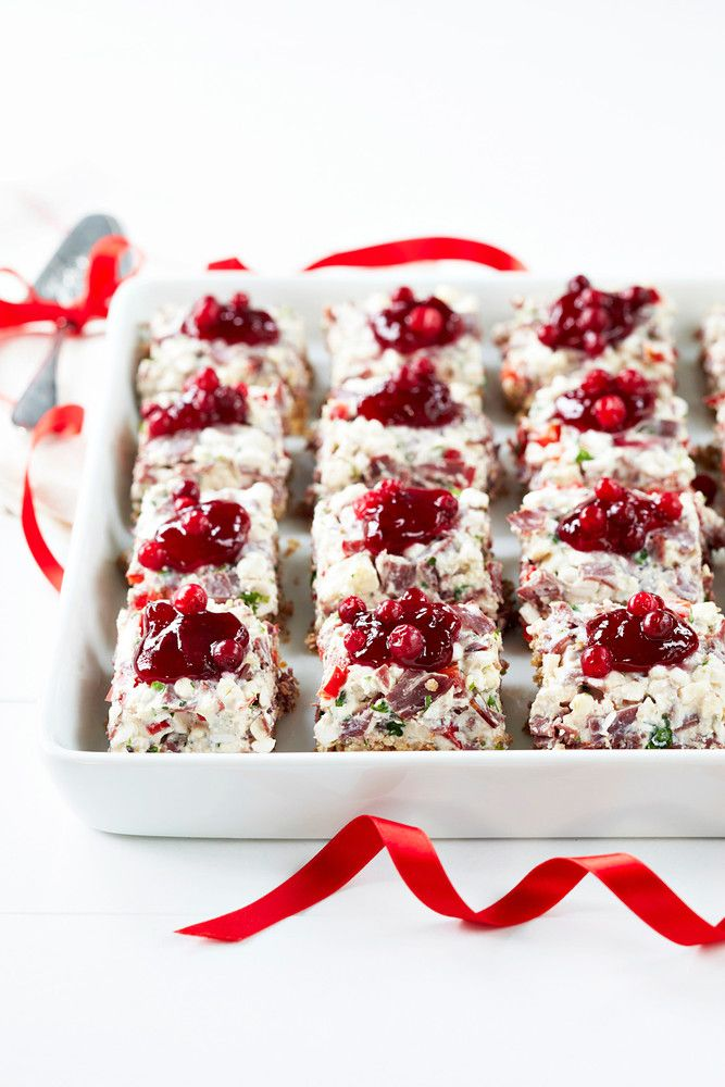 Reindeer - gorgonzola appetizer