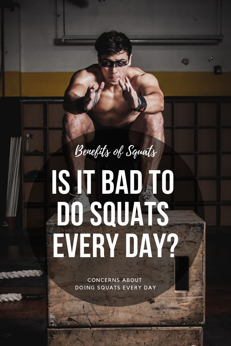 Is It Bad To Do Squats Every Day? Fitness lovers know that squats provide a full body workout, but