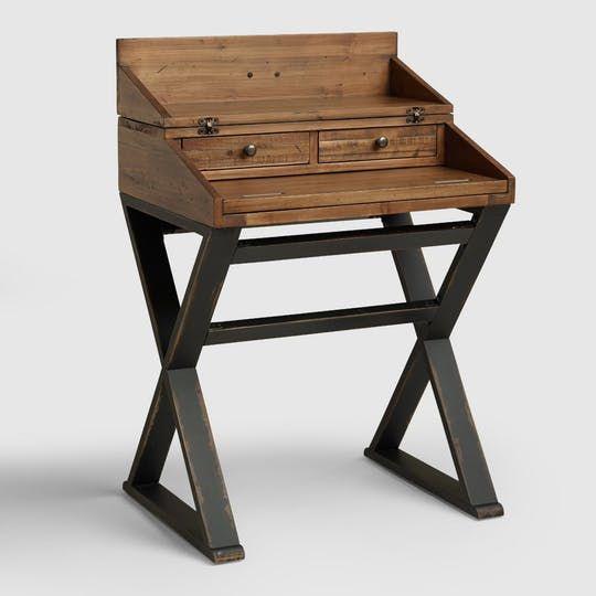 10 Of Our Favorite Modern Secretary Desks For Small Spaces Ikea Secretary Desk Modern Secretary Desk Secretary Desks