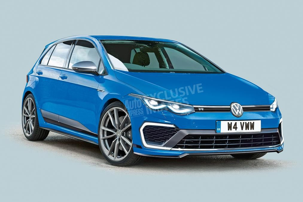 2020 Volkswagen Golf R To Be Fastest Ever With 405 Hp 298 Kw
