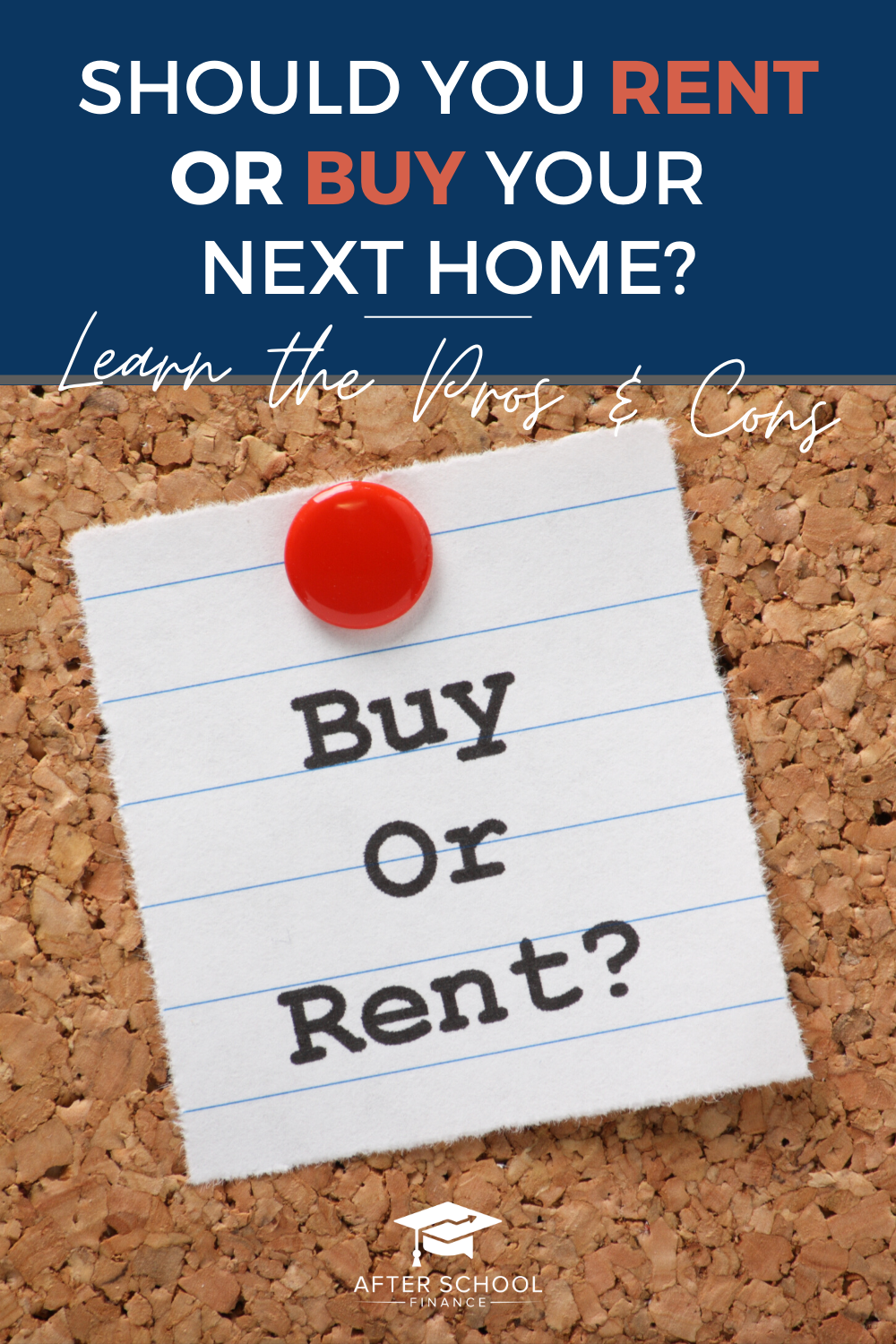 Renting Vs Buying Pros Cons Should I Rent Or Buy My Next House Budget Planner Printable Home Buying Tips Financial Motivation