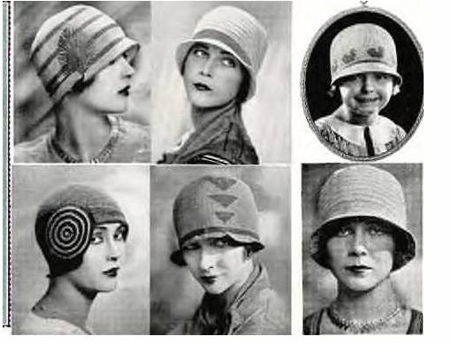 Cloche años 20   retro classics   Pinterest