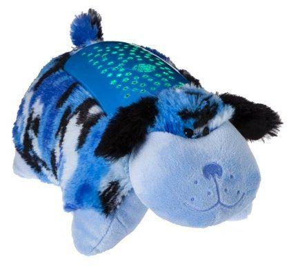 Pillow Pets Dream Lites Blue Camo Dog 11 Animal Pillows Plush Pillows Blue Camo
