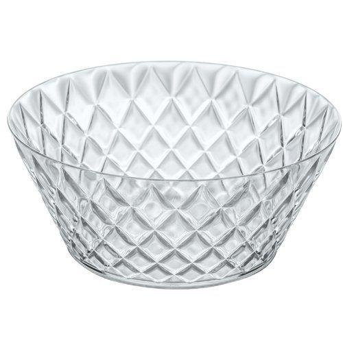 Koziol Crystal 3500ml Salad Bowl Salad Bowls White Pasta Bowls