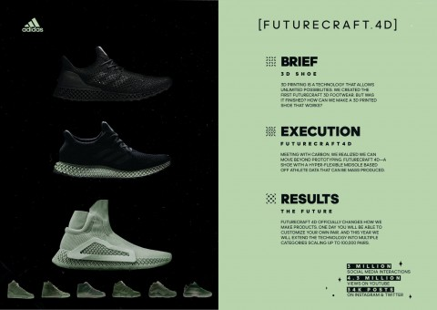 Futurecraft 4d Adidas Adidas In 2020 Shoe Print 3d Printed Shoes Best Ads