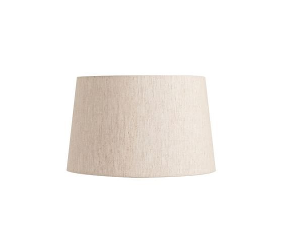 Linen Tapered Lamp Shade Taped Edge Antique Lamp Shades Old Lamp Shades Drum Lampshade