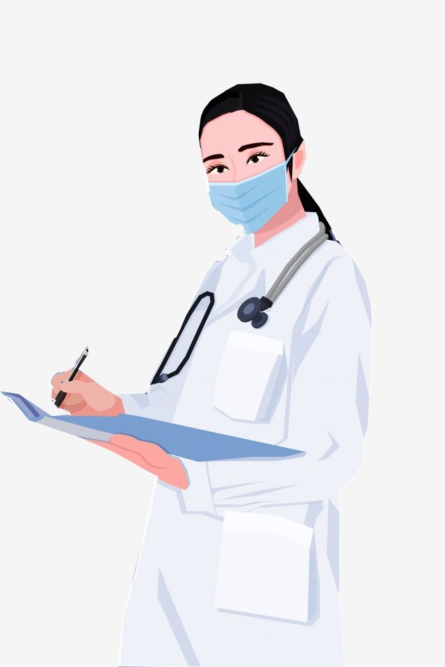 Doctor Wearing A Mask Community Helpers Clipart Duty File Png Transparent Clipart Image And Psd File For Free Download Medical Wallpaper Doctor Drawing Medical Clip Art