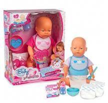Baby Amore Pipi Popó interaktív baba