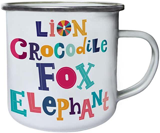 Amazon.co.uk enamel mug in 2020 Mugs, Glassware, Elephant