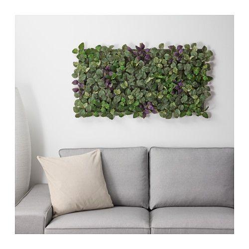FEJKA Artificial Plant   Faux Living Wall Panels As A Backsplash