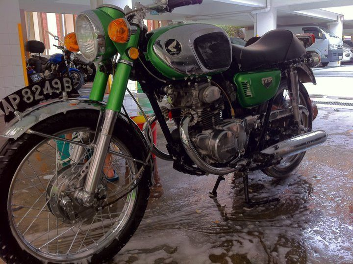 Vintage Honda Cb175 Year 1973 Sg7000 Now We Are Getting