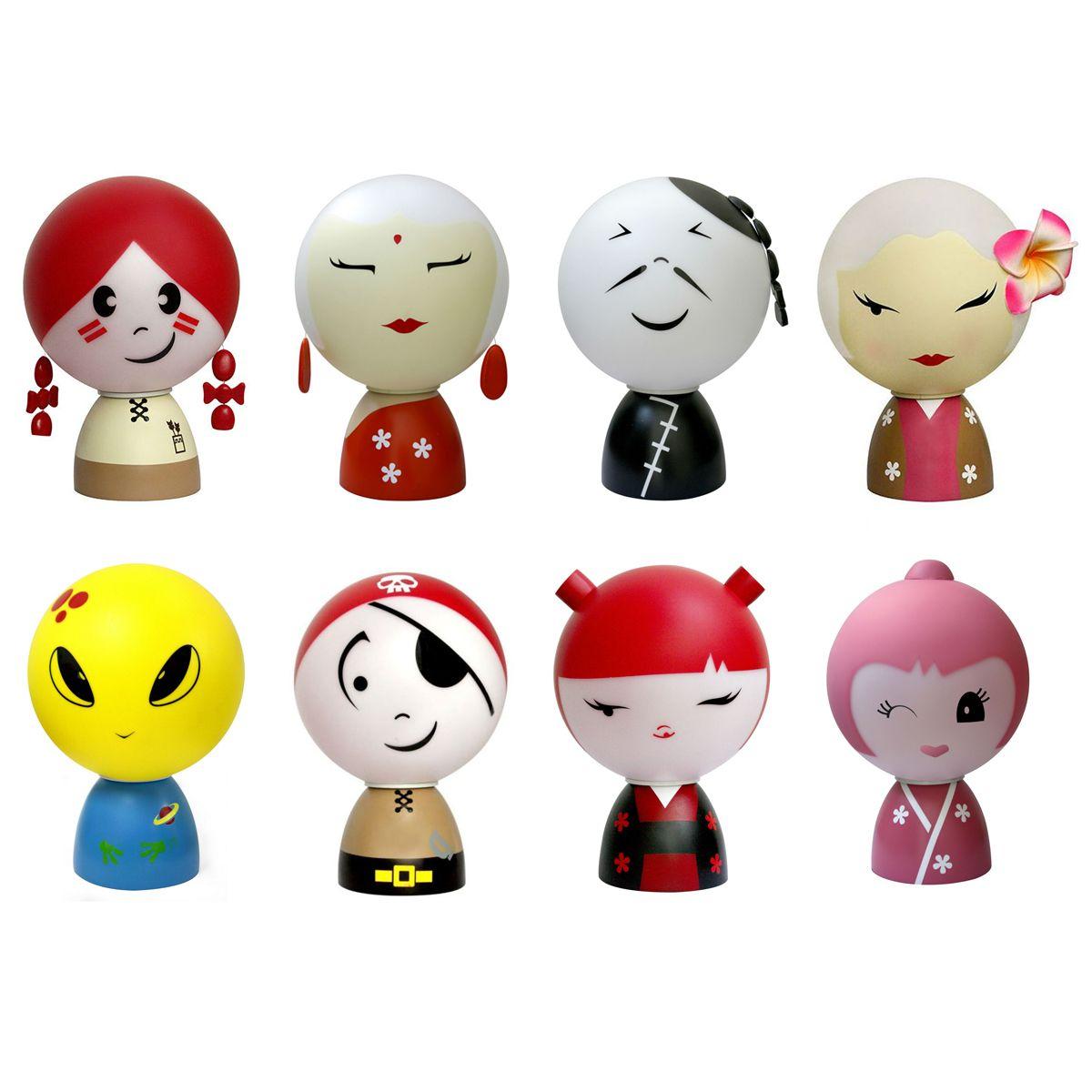 Marka Folky Dolls oferuje wyłącznie małe lampki, śmieszne i kolorowe. Dzieci je uwielbiają ! → http://bit.ly/1DT1m2C