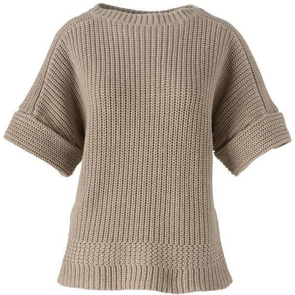 Lands' End Women's Petite Short Sleeve Dolman Sweater - Shaker ...