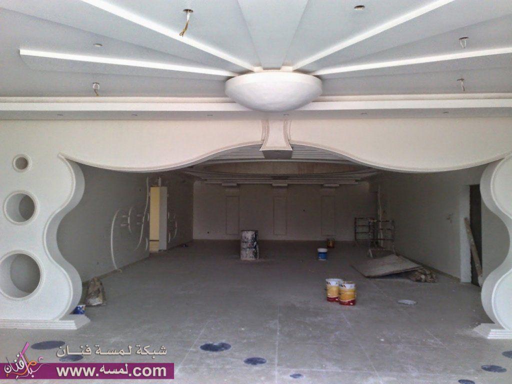 جبس مغربي اقواس Buscar Con Google House Ceiling Design House Arch Design Ceiling Design
