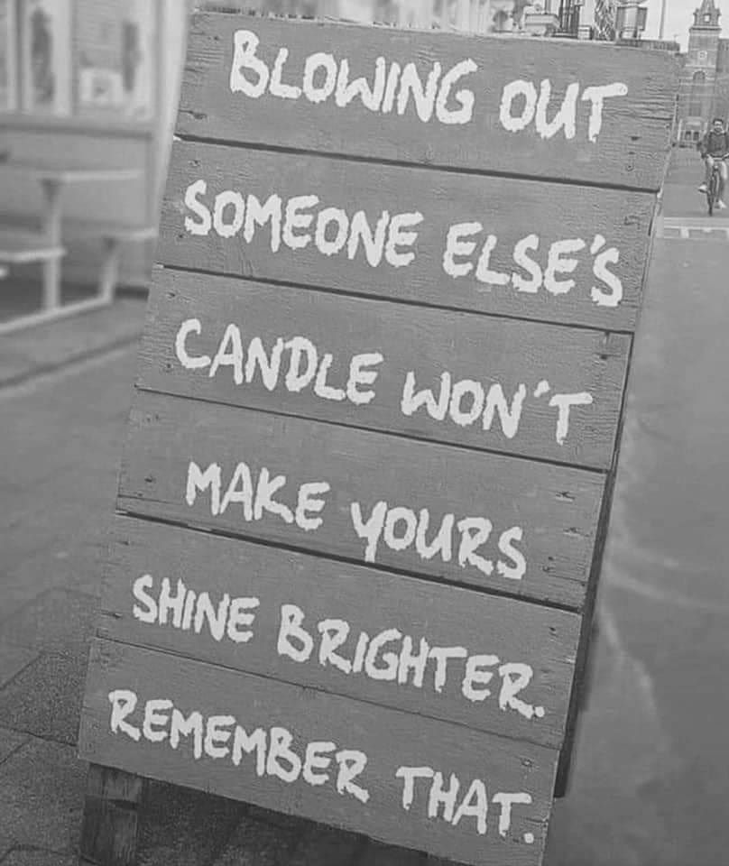 Your Daily Dose Of Positivity Make Eachother Shine Brighter