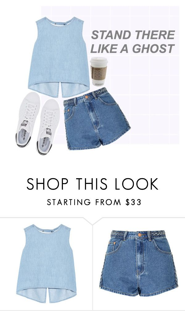 """when we started"" by brooksse ❤ liked on Polyvore featuring Steve J & Yoni P, Glamorous and adidas Originals"