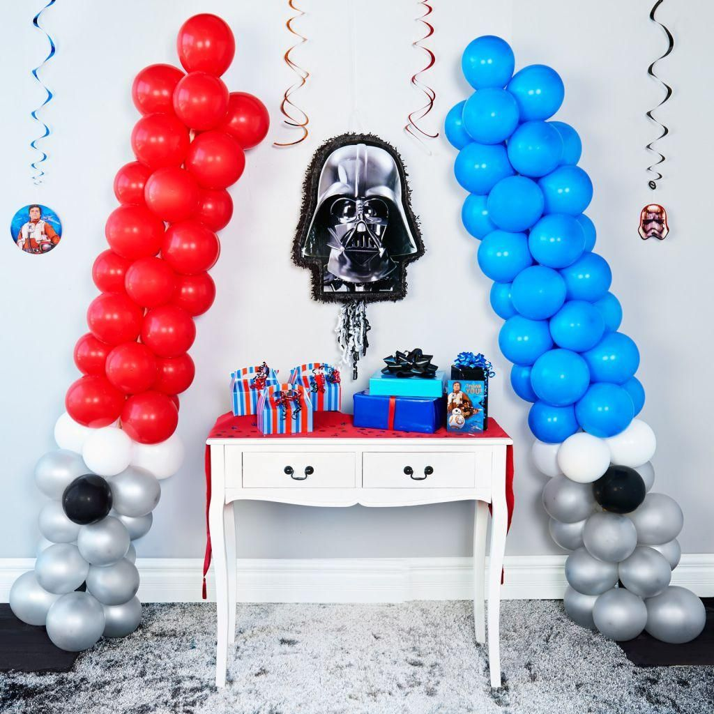 DIY Star Wars Party Decorations | Baby leia baptism | Star ...