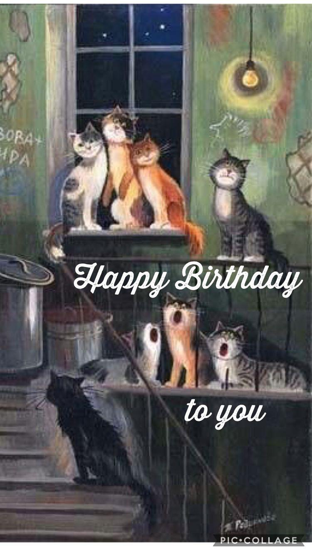 Pin By Catherine Seguin On Sisters Katzen Spruche Geburtstag