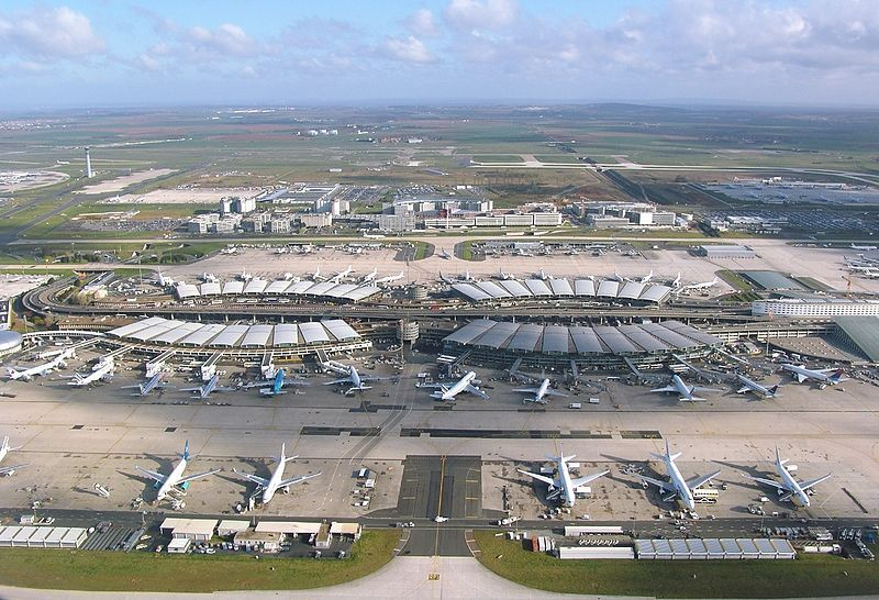 Paris-Charles de Gaulle International Airport Terminal 2 -
