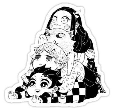 Demon Slayer Kimetsu no Yaiba Sticker