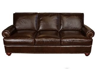 Ellington   Klassner Leather Sofa|Town And Country Leather Furniture
