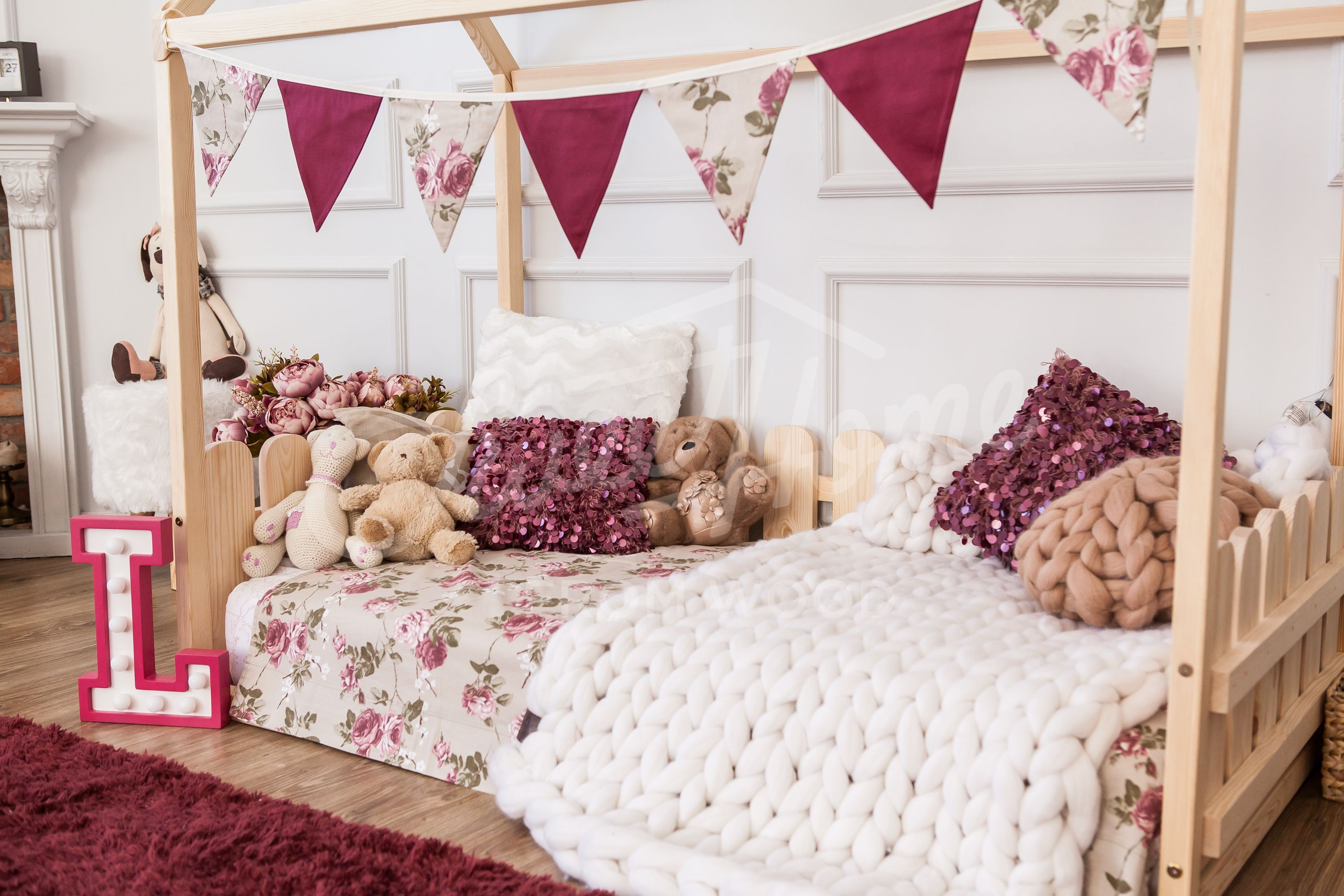Romantic Vintage Girls Room Interior Ideas, Shabby Chic Nursery Ideas,