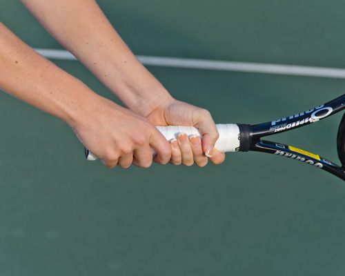 Two Basic Grips Every Tennis Player Should Know Tennis Tennis Tips Tennis Racket
