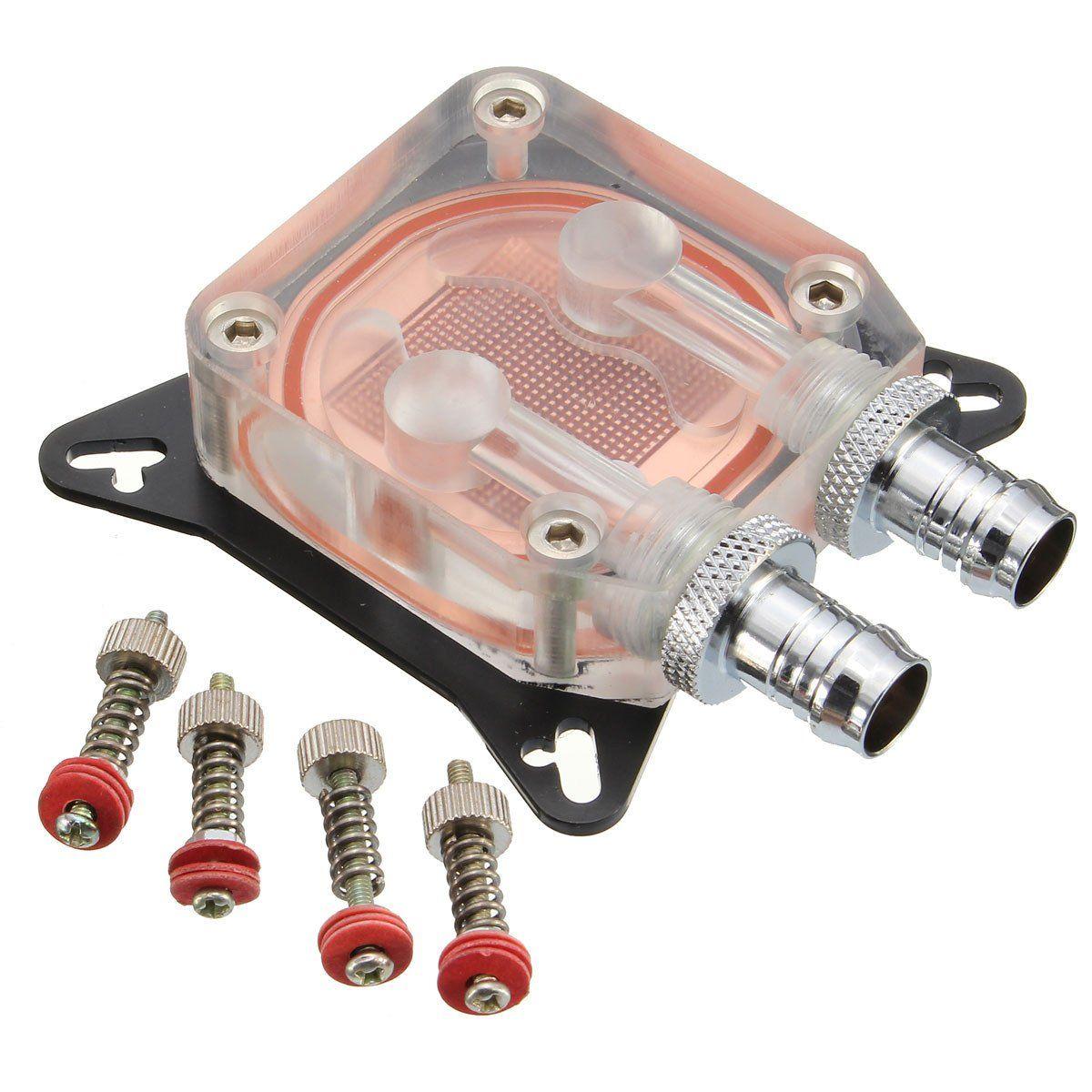 Gpu Water Cooling Block Pc Copper High Performance Liquid Cooler Amd Equipment Tools 2pcs Gwinstek Lcr Kelvin Test Clip Bridge Nvidia W40